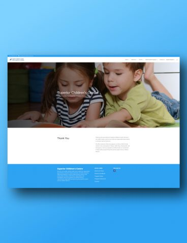 Superior Children's Centre Website