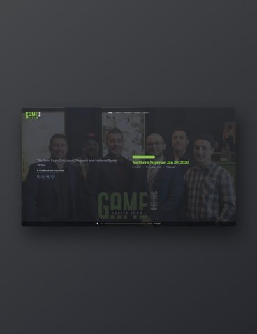 The Game Sports Show Website